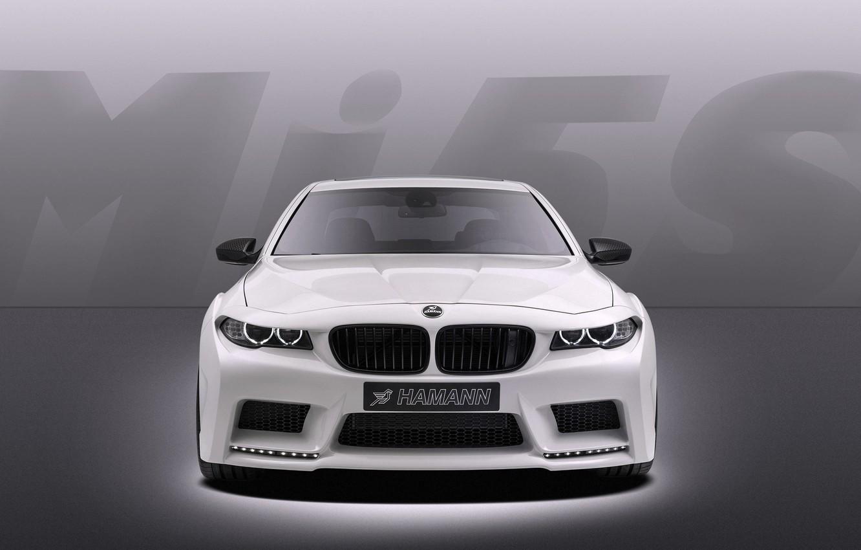 Photo wallpaper Auto, White, BMW, Machine, Tuning, Boomer, Grille, BMW, The hood, Case, Sedan, Lights, Hamann, The …