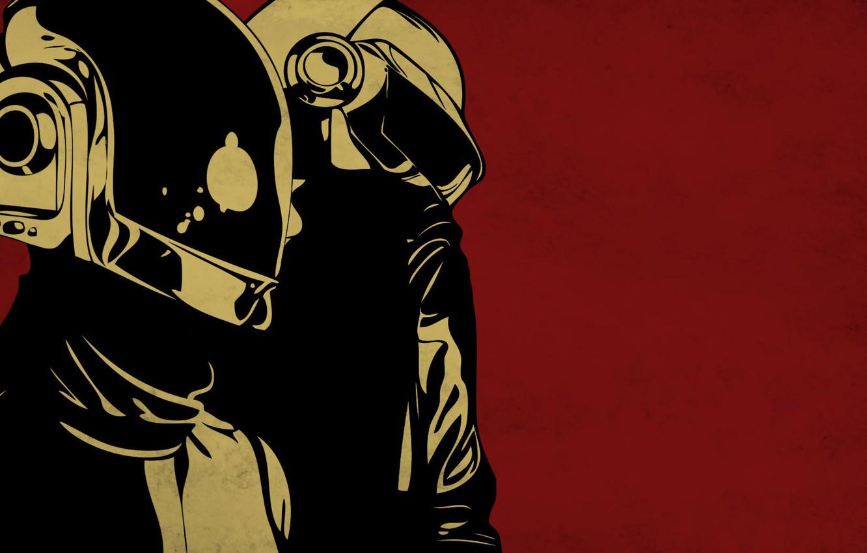 Photo wallpaper Daft Punk, thomas bangalter, guy manuel de homem christo
