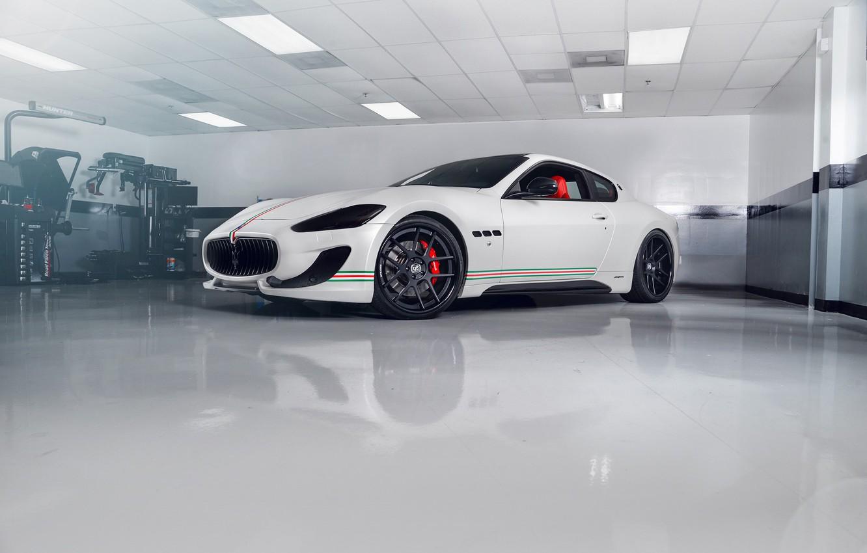 Photo wallpaper Maserati, Turismo, Gran, Wheels, Strasse