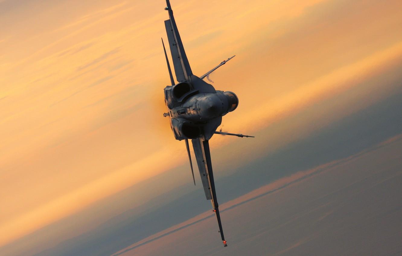 Wallpaper Sunset Fighter Flight Multipurpose Hornet F