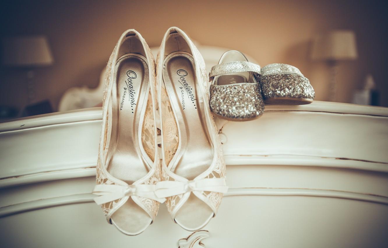 Photo wallpaper shoes, shoes, wedding