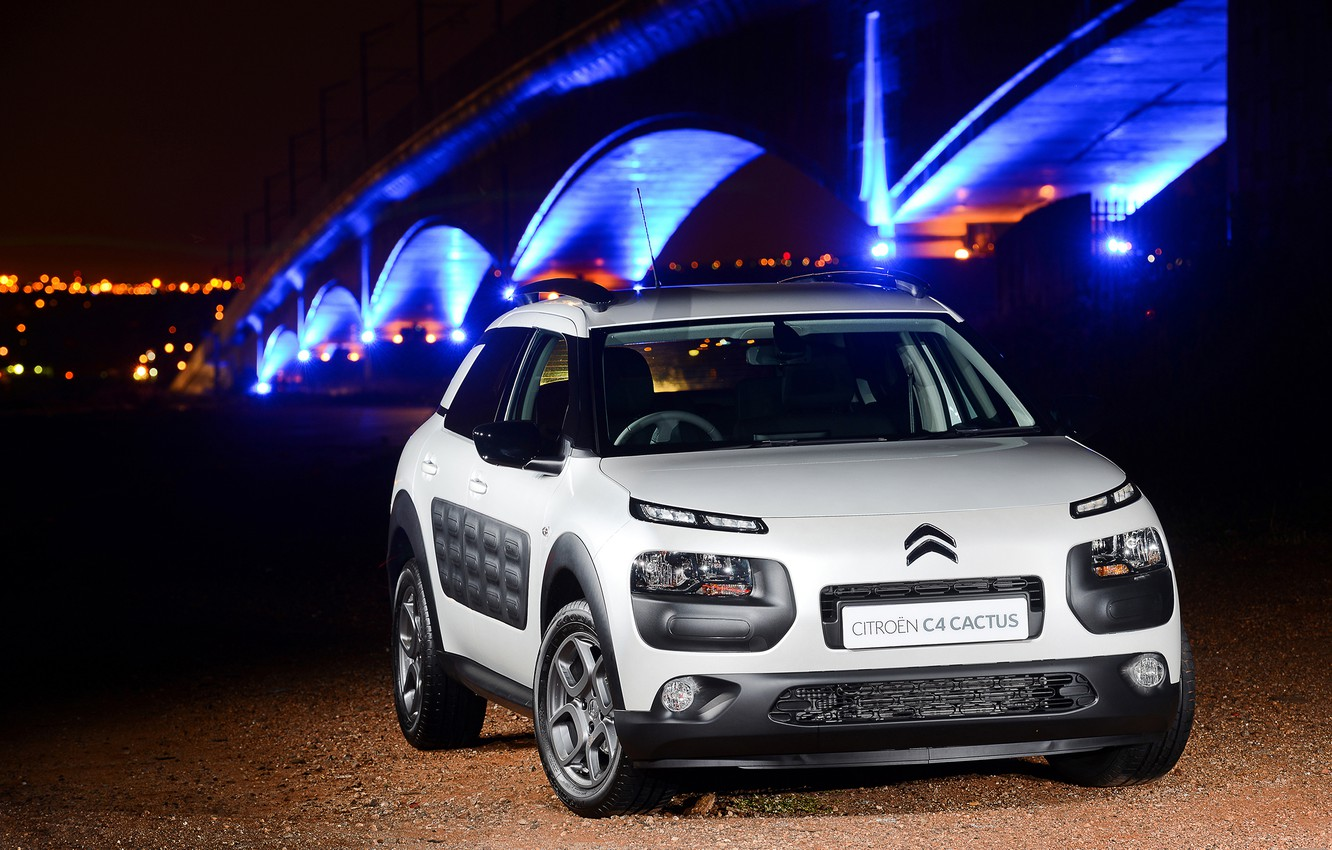 Photo wallpaper cactus, Citroen, Citroen, 2015, ZA-spec, Cactus