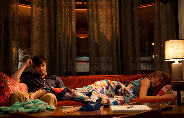 Photo wallpaper Daniel Radcliffe, What If, Zoe Kazan, Friendship and no sex