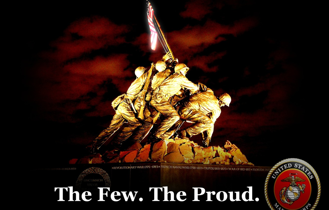 Wallpaper Marines The Few The Proud Images For Desktop Section