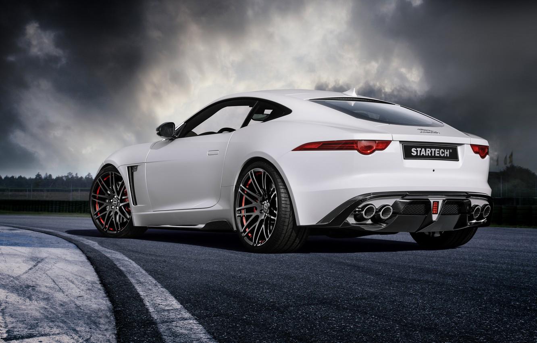 Photo wallpaper coupe, Jaguar, Jaguar, Coupe, F-Type, Startech, 2015