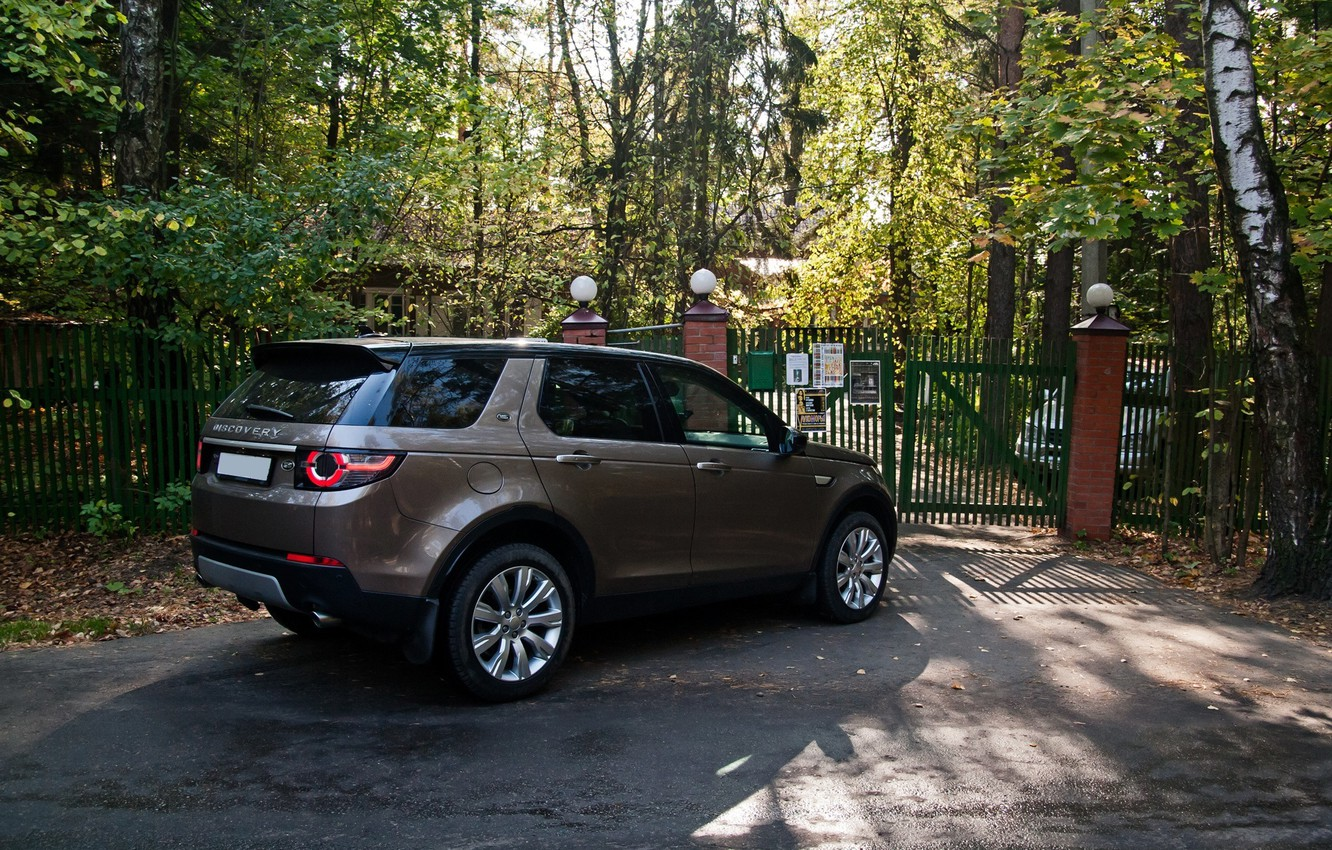 Photo wallpaper Land Rover, Discovery, Sport