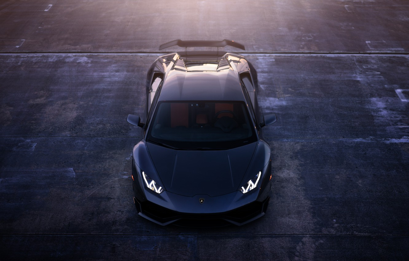 Photo wallpaper LP 610-4, William Stern, Lamborghini Huracan, LB724