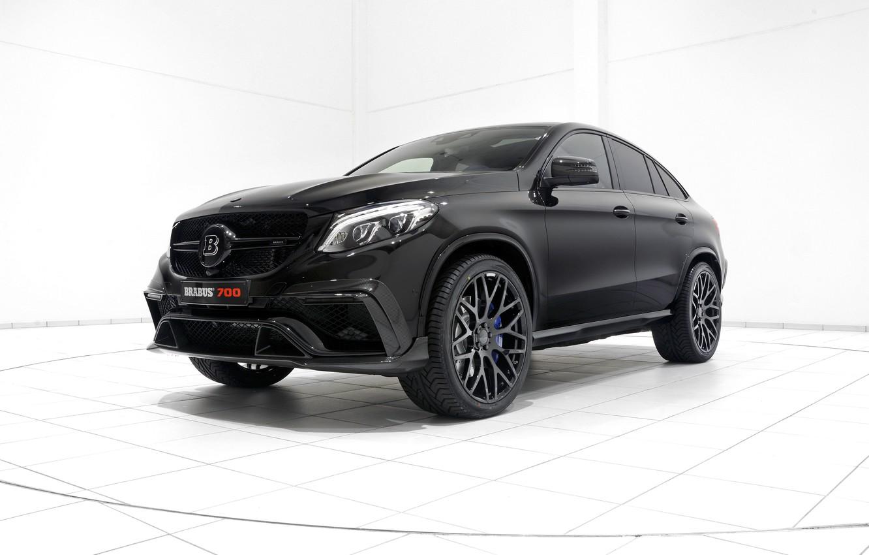 Photo wallpaper black, Mercedes-Benz, SUV, Brabus, Mercedes, BRABUS, C292, GLE-Class