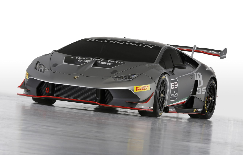 Photo wallpaper Lamborghini, Super Trophy, 2015, Huracan, LP-620-2