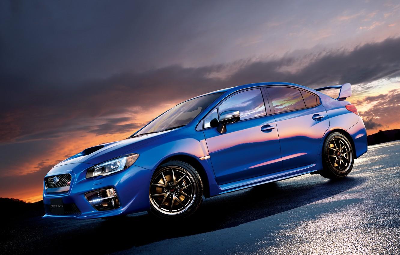 Photo wallpaper Subaru, WRX, STI, Subaru, JP-spec, 2014