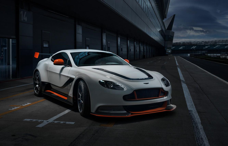 Photo wallpaper Aston Martin, Vantage, Aston Martin, GT3, V12, 2015