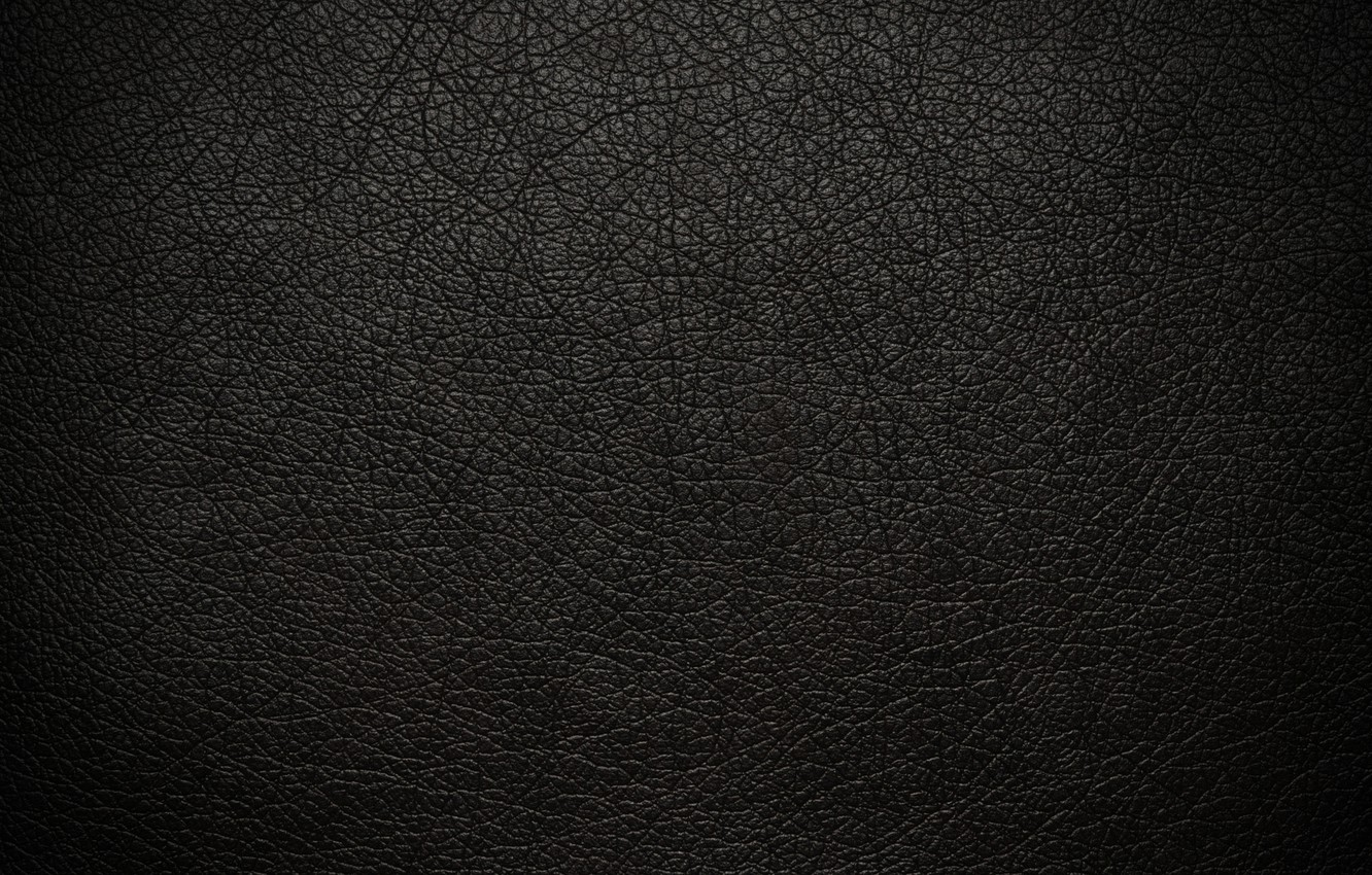 Photo wallpaper cracked, texture, leather, black