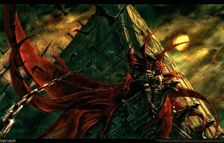 Photo wallpaper red, cloak, spawn