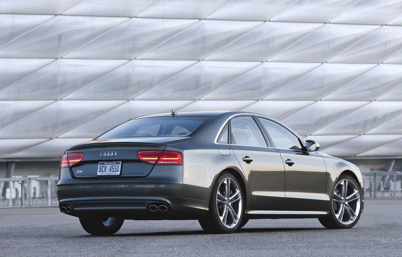 Photo wallpaper Audi, The evening, Auto, Audi, Machine, Grey, Sedan, TFSI