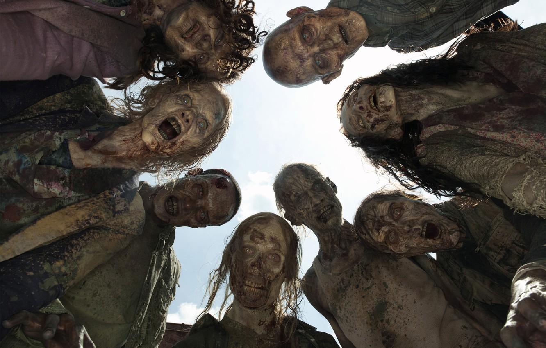 Photo wallpaper zombies, corpses, The Walking Dead, The walking dead