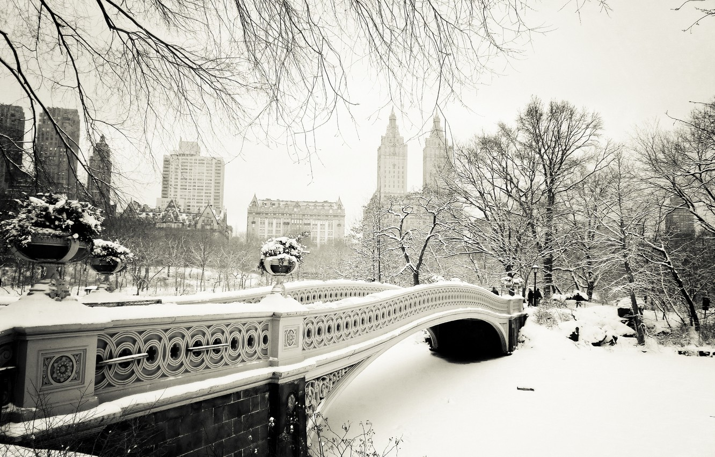 Обои Nyc, manhattan, new york, winter. Города foto 17