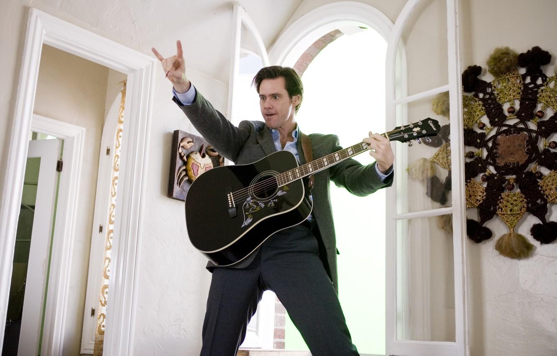 Wallpaper Guitar Jim Carrey Jim Carrey Always Say Yes