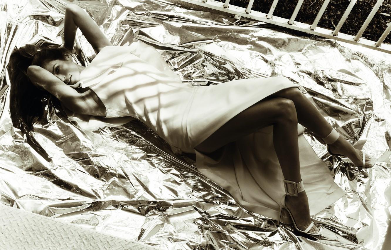 Photo wallpaper model, mole, sindi krouford, Cindy Crawford
