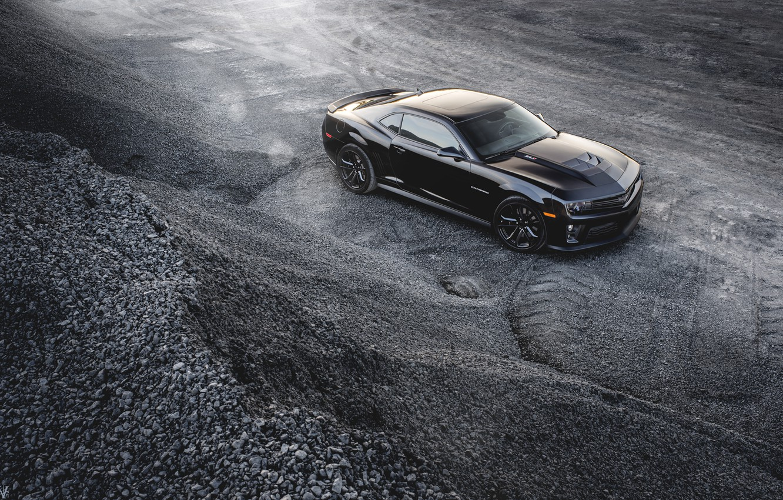 Photo wallpaper Chevrolet, Camaro, black, ZL1, Andrew Thompson