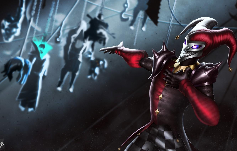 Wallpaper Joker Clown League Of Legends Shaco Jester Demon Jester Images For Desktop Section Igry Download