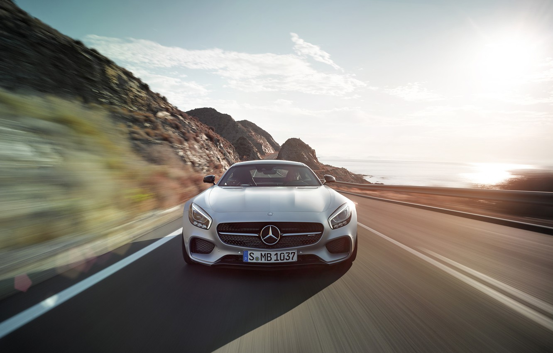Photo wallpaper Mercedes Benz, AMG, 2016