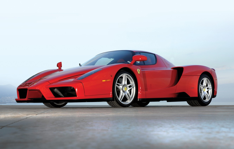 Photo wallpaper red, Ferrari, ferrari enzo, Enzo
