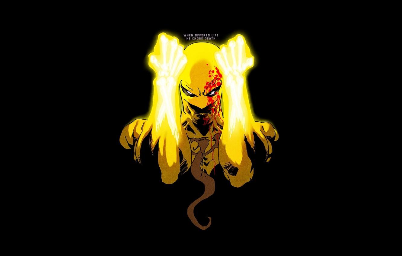 Photo wallpaper comics, Marvel, Danny Rand, Danny Rand, Iron fist, Iron Fist
