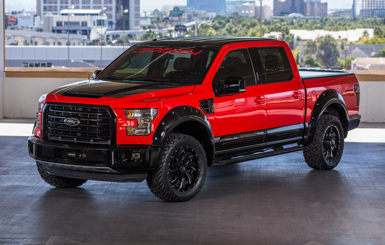 Photo wallpaper Ford, Ford, pickup, F-150, AirDesign