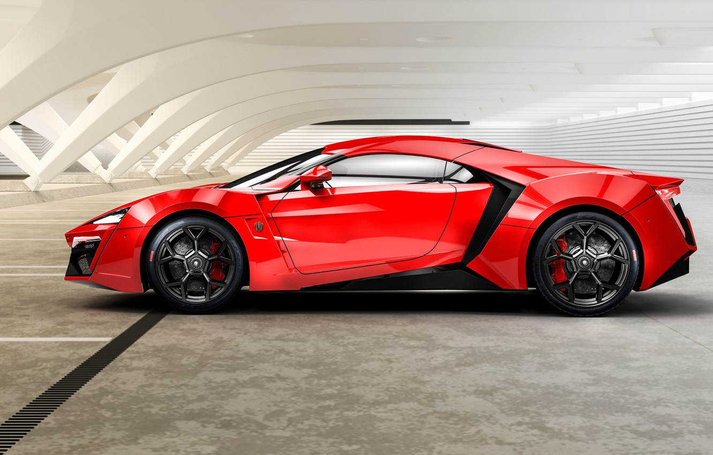 Photo wallpaper red, 2014, HyperSport, Lykan, W Motors