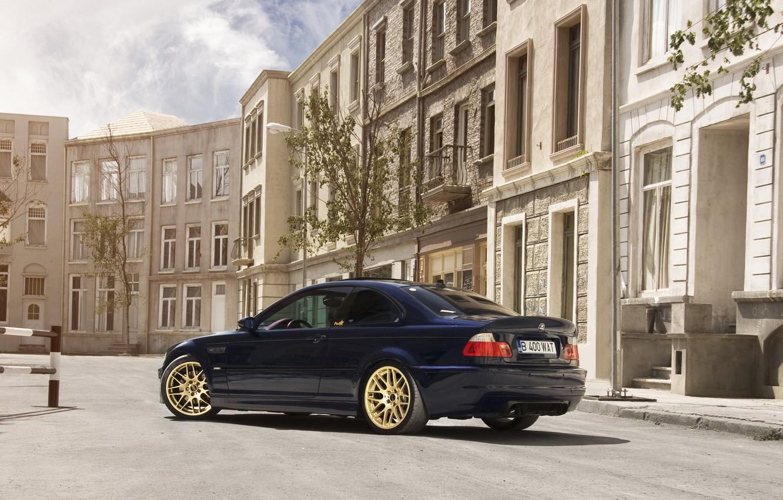 Photo wallpaper tuning, BMW, BMW, back, E46, Hamman