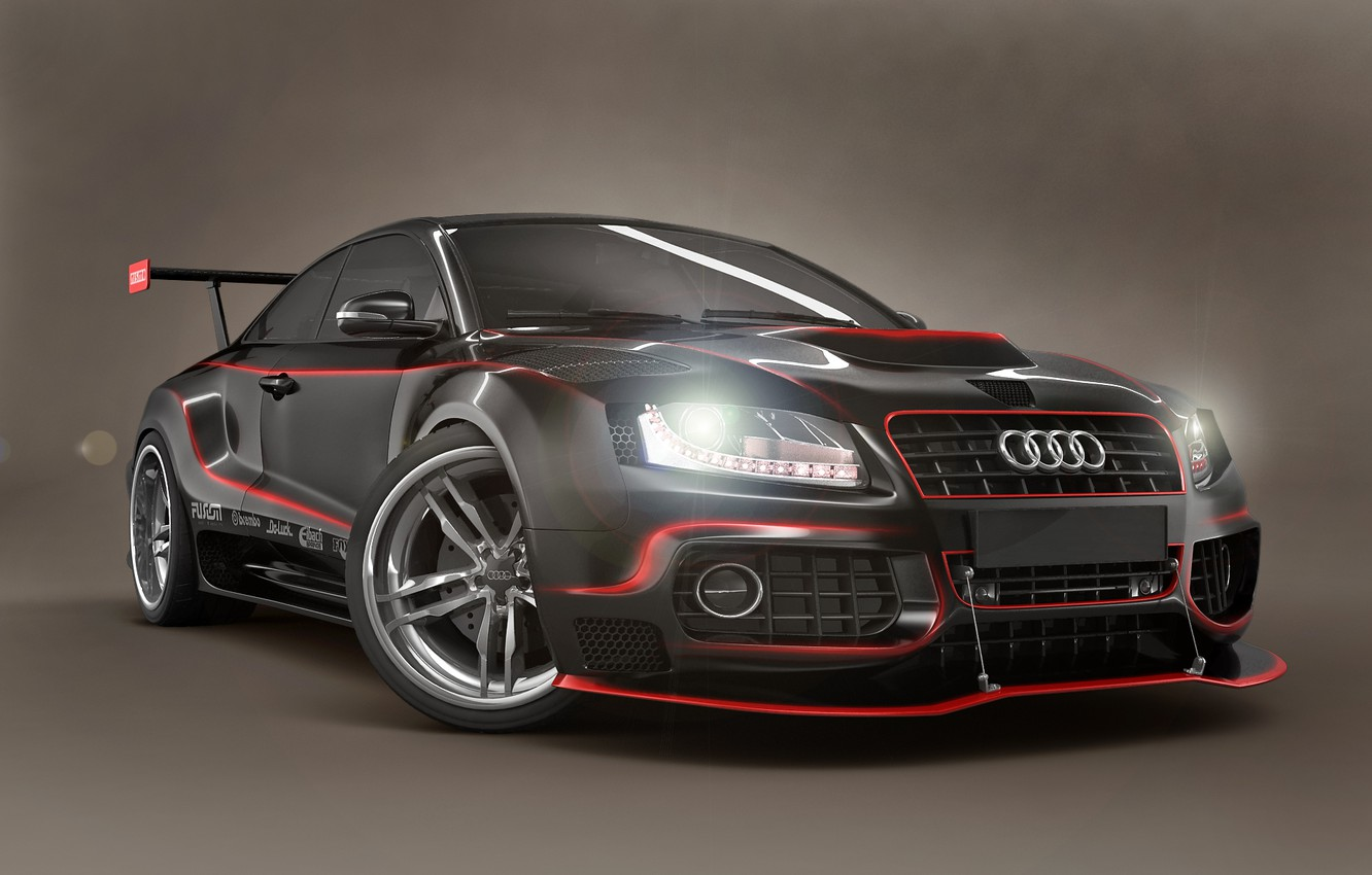 Photo wallpaper Audi, GTR