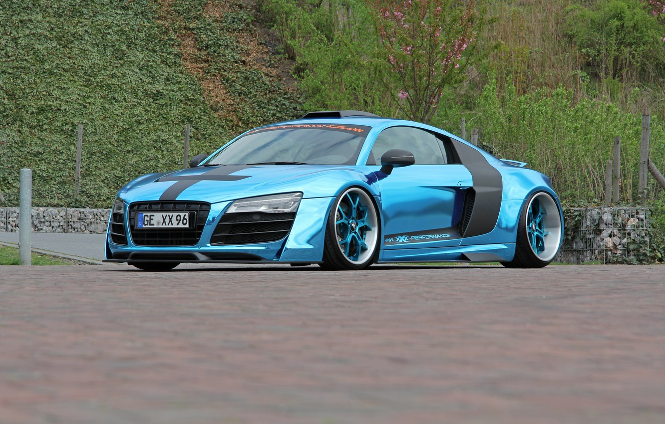 Photo wallpaper Audi, V10, XXX Performance, R8, by