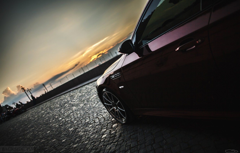 Photo wallpaper machine, auto, BMW, Shadow, disk, auto, review, E60, The how to check engine temperature, Smotra, …