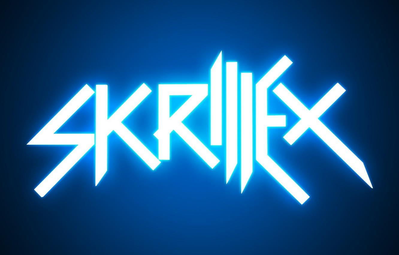 Photo Wallpaper Minimalism Logo Neon Music Skrillex