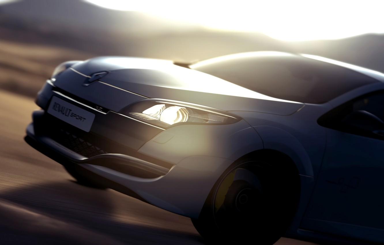 Photo wallpaper speed, Renault, Megane