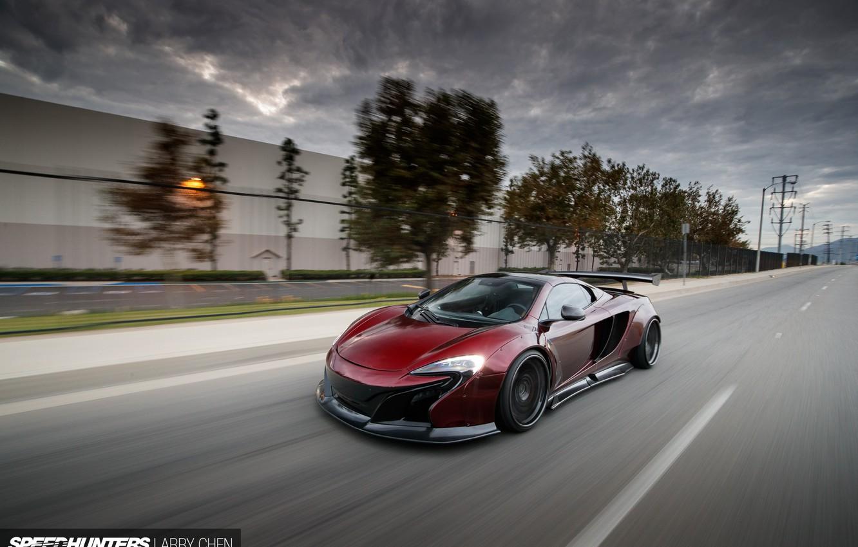 Photo wallpaper road, McLaren, speed, MP4-12C, Liberty Walk