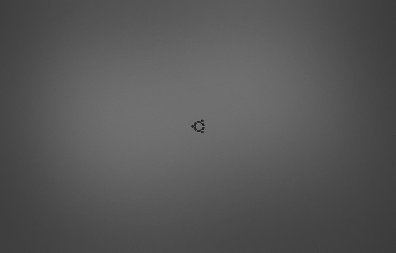 Photo wallpaper logo, ubuntu, Ubuntu