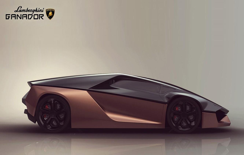 Photo wallpaper Car, Hubbak, Concept 2015, Lamborghini Ganador