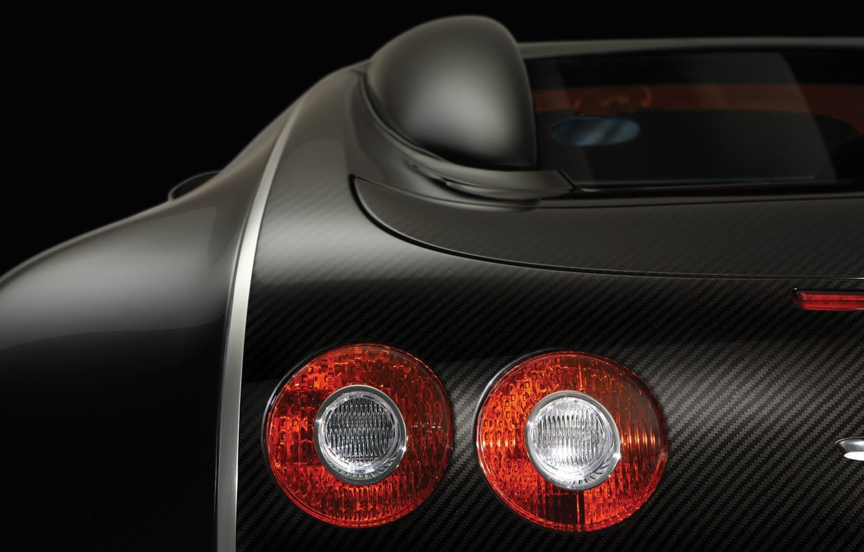 Photo wallpaper headlight, Bugatti, Veyron, stop signals