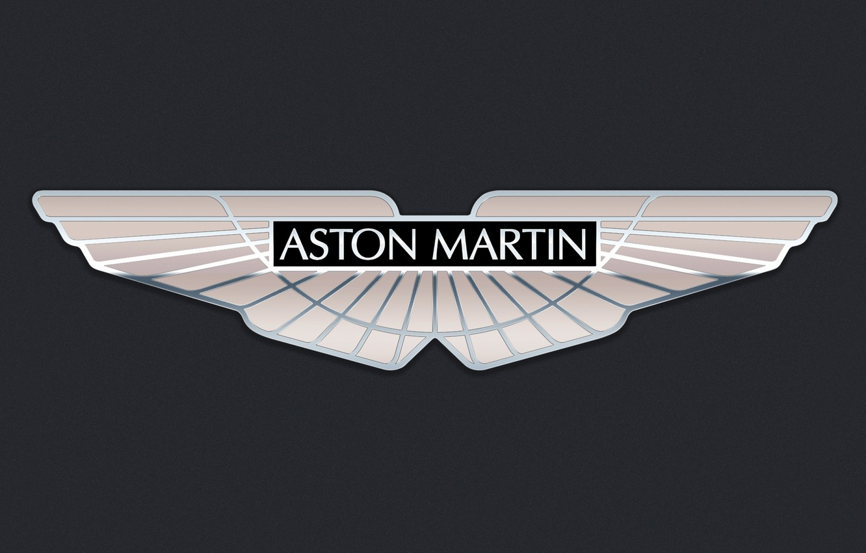 Photo wallpaper Aston Martin, logo, Aston Martin, emblem, Logo