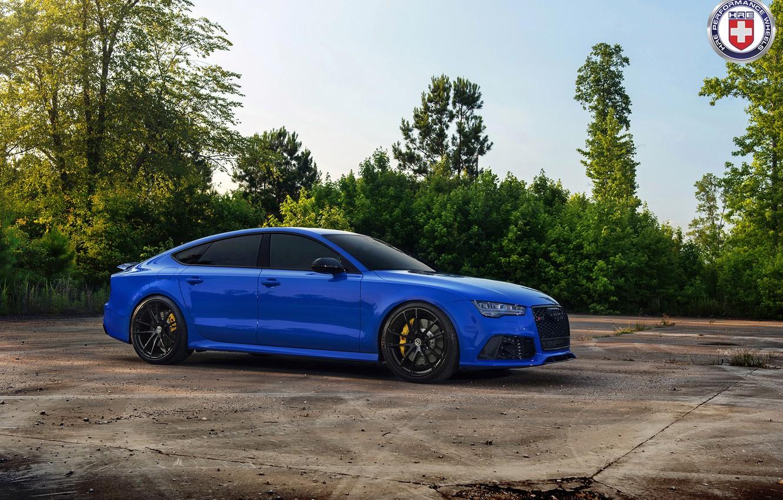 Photo wallpaper Audi, RS7, HRE, P104