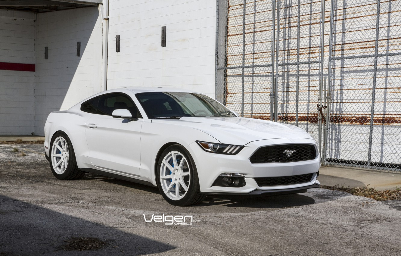 Photo wallpaper Mustang, Ford, Wheels, VMB8, Velgen, Eco, Boost, 20x9 & 20x10.5