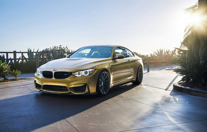 Photo wallpaper car, BMW, Vorsteiner, sun, F82