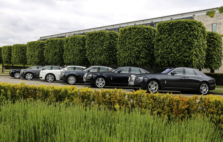 Photo wallpaper Cars, ghost, rolls-royce