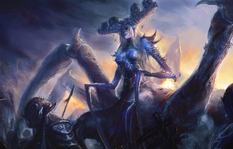 Fantasy Art Undead Cave