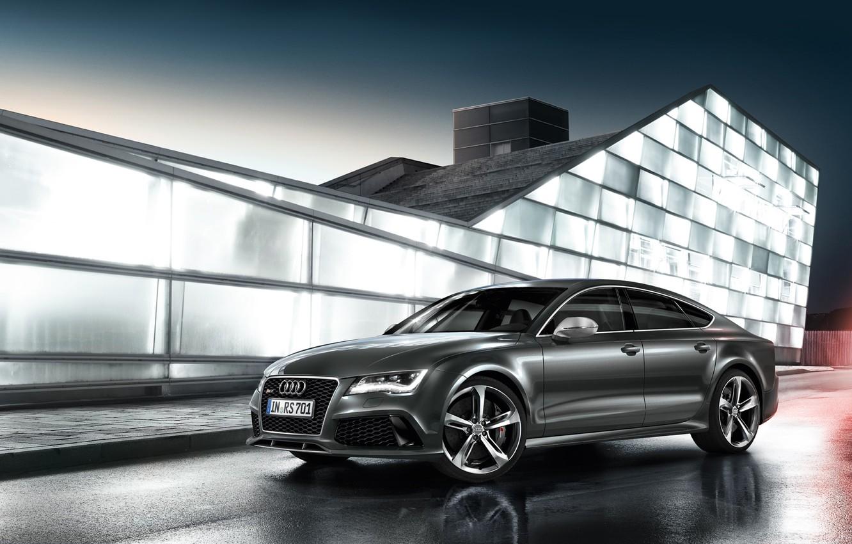 Photo wallpaper Audi, 2014, RS7