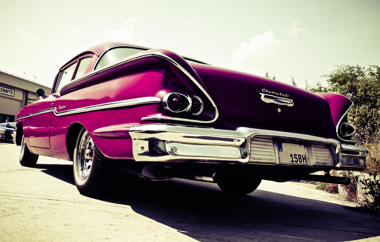 Photo wallpaper car, Chevrolet, photo, photographer, markus spiske, oldtimer