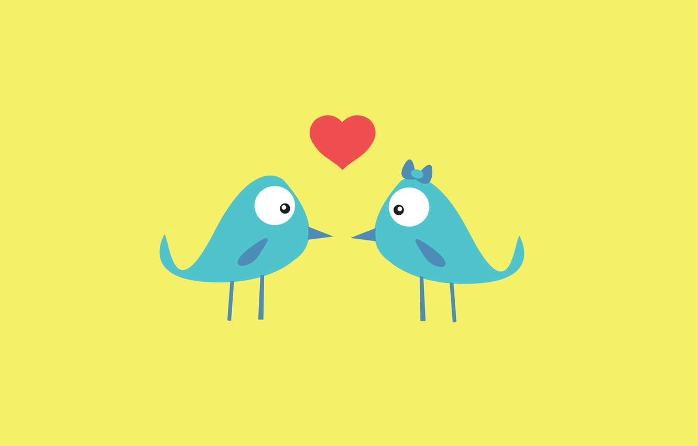 Wallpaper Love Birds Background Pink Blue Wallpaper Heart Texture Feathers Beak Birds Love Cartoon Serdechko Images For Desktop Section Tekstury Download