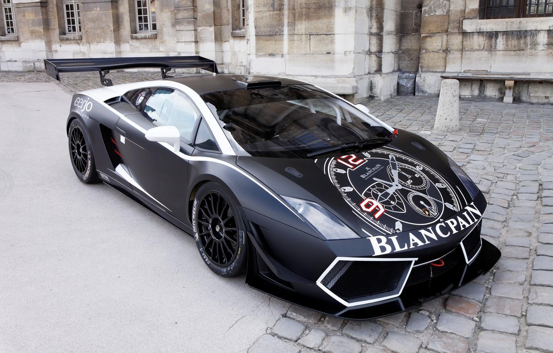 Photo wallpaper Lamborghini, Gallardo, GT3, Series, Endurance, Blancpain