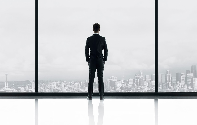 Photo wallpaper Jamie Dornan, Fifty shades of grey, Fifty Shades of Grey